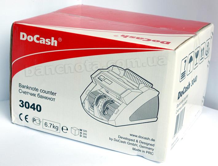 Упаковка из прочного пенопласта позволит доставить бесплатно компанией Новая почта ― DoCash 3040 UV