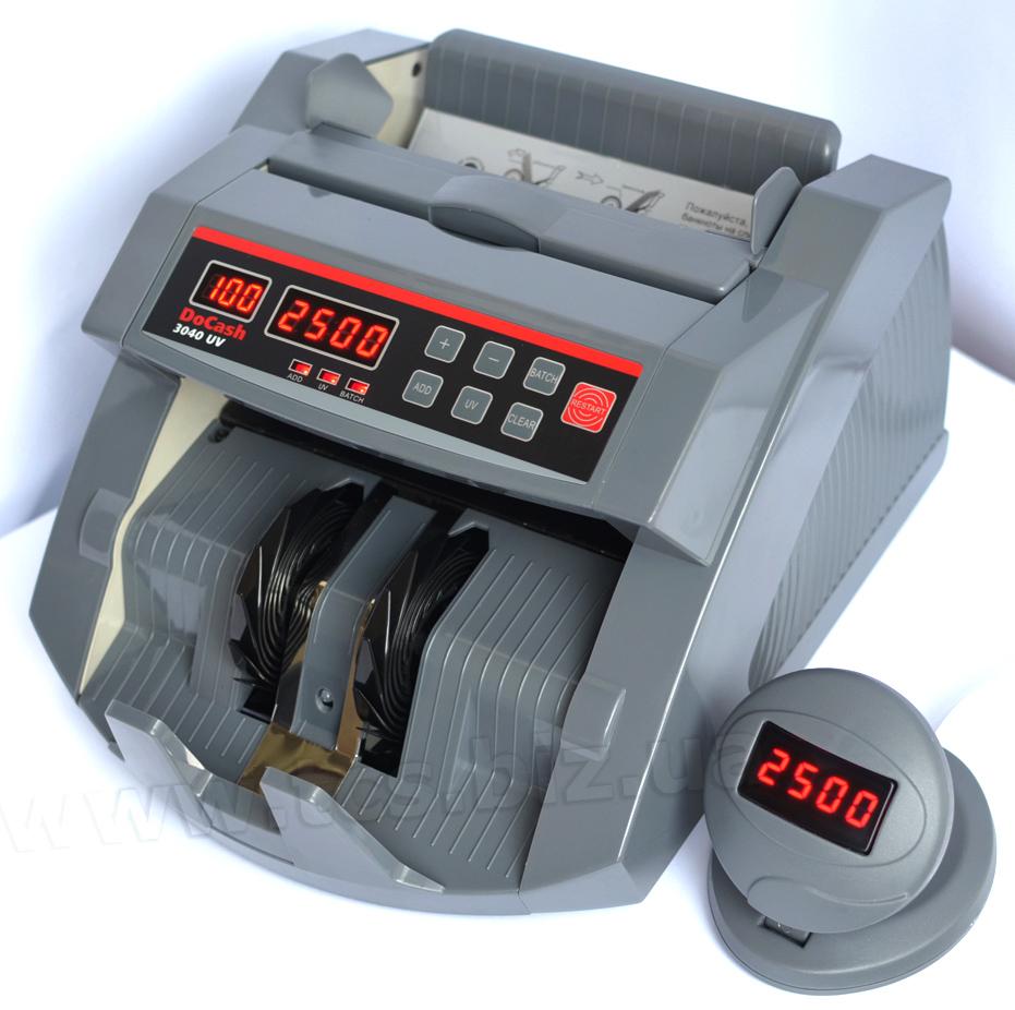 Лічильник банкнот DoCash 3040 UV. Найкраща якість за доступною ціною!